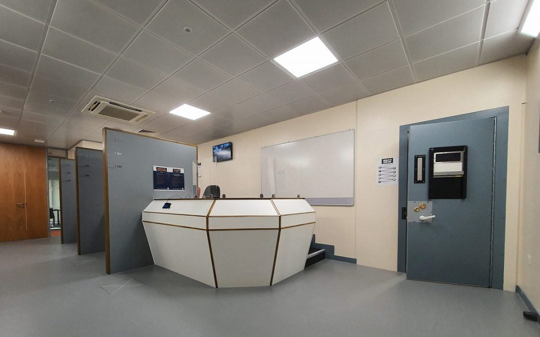 Morrison Design complete design of new University of Derby Custody Suite