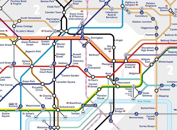 Thameslink services set to be temporarily added to latest Tube map to help support customers during the coronavirus pandemic