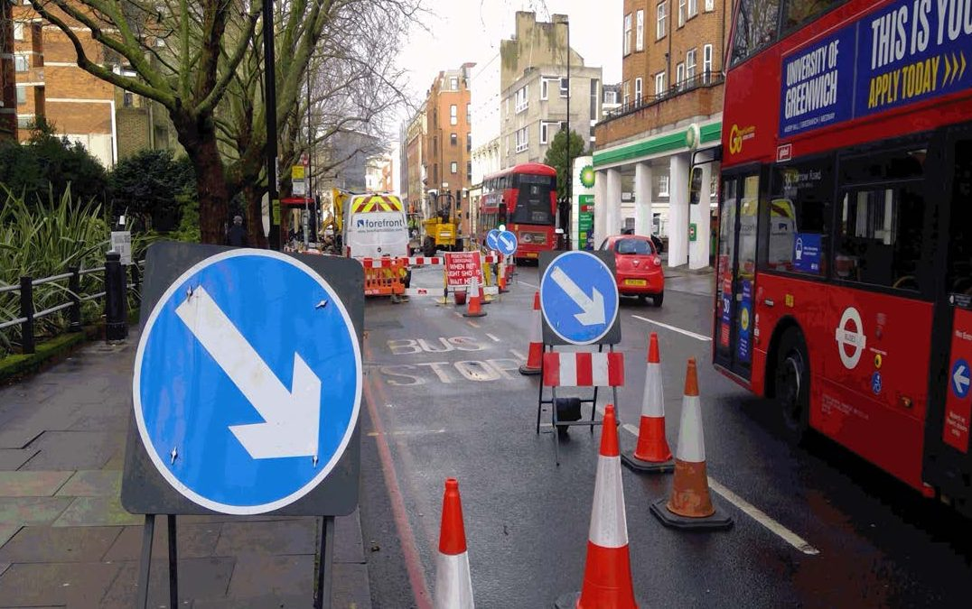 London's congestion-cutting Lane Rental schemeto be expanded and updatedfrom May, including pavements for the first time