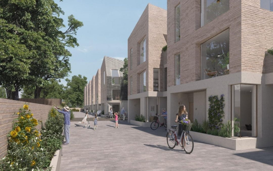 Permission granted for £7m development of family mews houses in Enfield