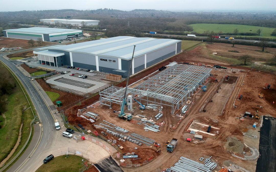 Work begins on IONOS data centre at Worcester Six development