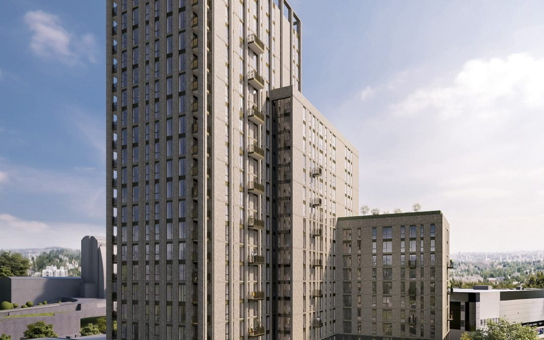 PLANS SUBMITTED FOR 336 BUILD-TO-RENT APARTMENTS IN SHEFFIELD