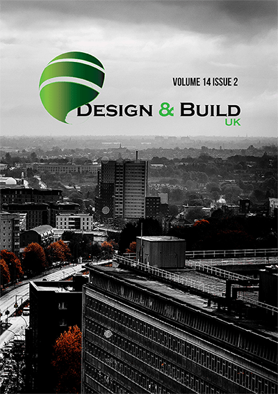 Design and Build UK front cover for Volume 14 Issue 2