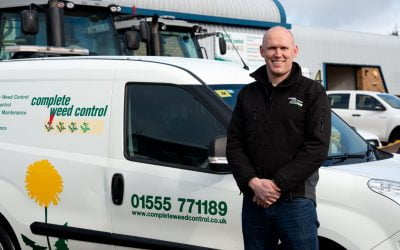Late spring blossoming for Carluke's Complete Weed Control as sales burgeon and workforce coheres into a winning team