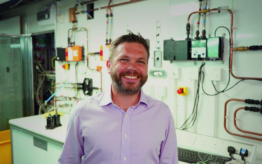 Stuart Clark joins Aqualisa as Head of New Product Development