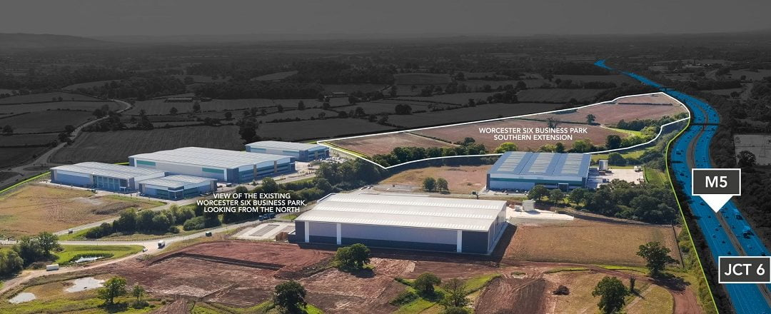Stoford submits plans for Worcester Six Business Park extension