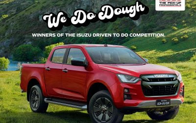 Isuzu UK's Competition Winner Announced – Driven To Do-ugh