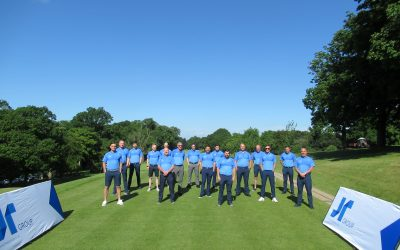 THE JR GROUP RAISES £800 FOR BEATSON CANCER CHARITY DURING OUTDOOR EVENT AT POLLOK GOLF CLUB