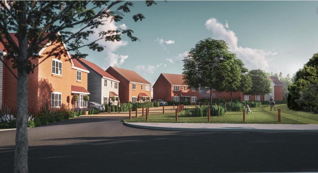 First homes to go on sale at new Saffron Walden development