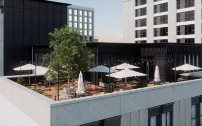 Gilbert-Ash returns to Scotland for ground-breaking 500-bedroom student hotel in Glasgow